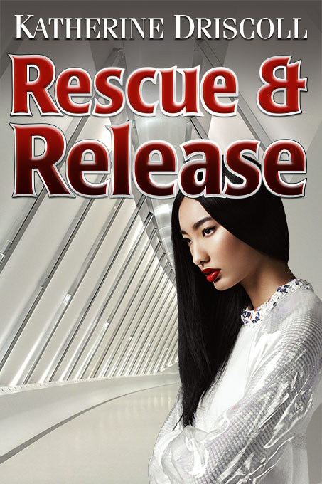 Romance novel cover for Rescue and Release by Dan Coggins, Pitchgreen Communications