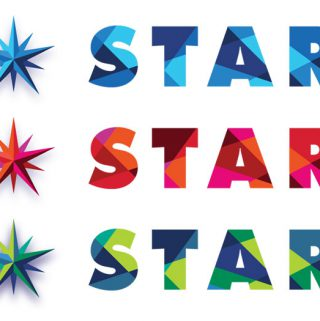 Star newsletter logo design for Knox-Metropolitan United Church by Dan Coggins, Pitchgreen Communications