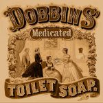 An 1869 advertisement for toilet soap