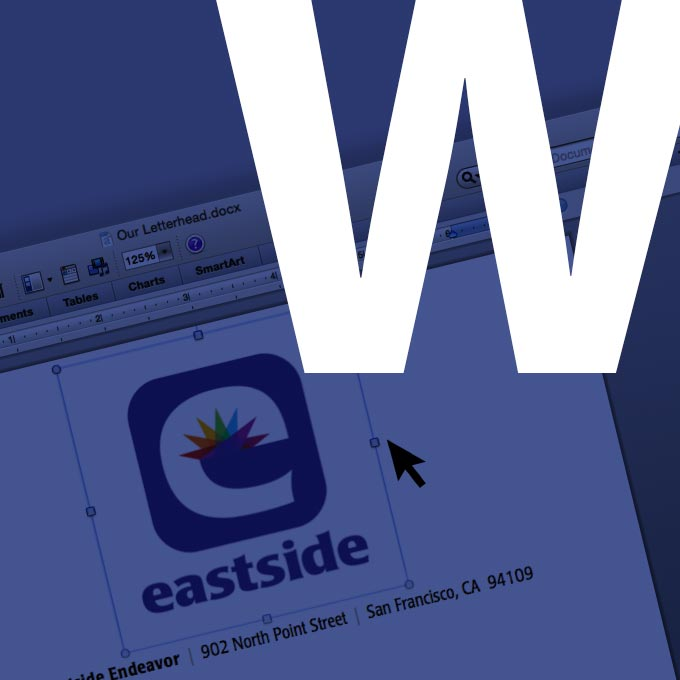 Paste a logo into Word — here's what it looks like