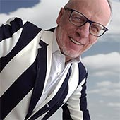 Promoting your business can make your feel uncomfortable, like wearing a striped jacket.